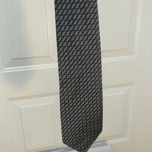 Calling Klein men's designer silk tie